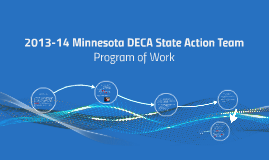 2013-14 Minnesota DECA State Action Team