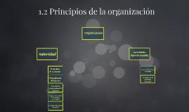 1.2 Principios de la organización
