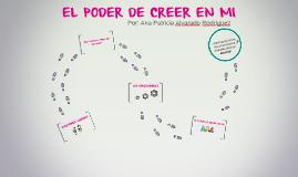 EL PODER DE CREER EN MI
