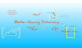 Better Reading Partnership