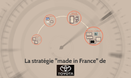 "La stratégie ""made in France"" de"