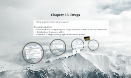 Chapter 13. Drugs