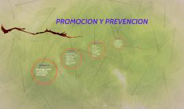 PROMOCION Y PREVEENCION