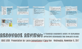 RESOURCE REVIEW: