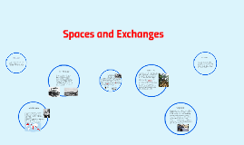 Copy of Spaces and Exchanges