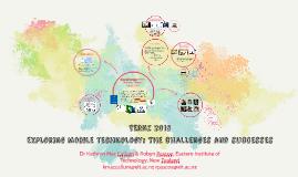TERNZ 2015: Exploring Mobile Tech