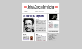 Copy of Animal Farm: Background & History