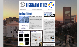 Legislative Ethics