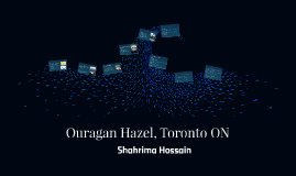 Ouragan Hazel, Toronto ON