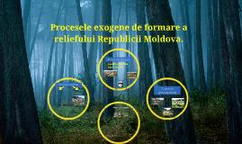 Copy of Procesele exogene de formare a reliefului Republicii Moldova