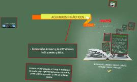 Copy of ACUERDOS DIDÁCTICOS
