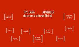 TIPS para APRENDER