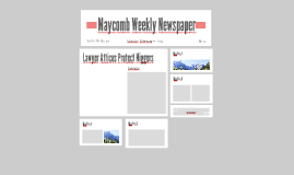 maycomb county newspaper