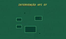 Intervenção API EF