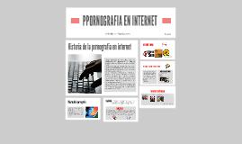 PPORNOGRAFIA EN INTERNET