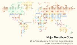 Major Marathons