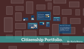 Citizenship Portfolio