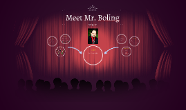 Meet Mr. Boling