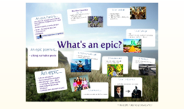 What's an epic?