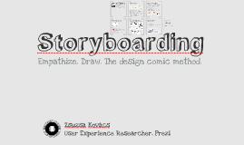 Storyboarding Workshop at AIT