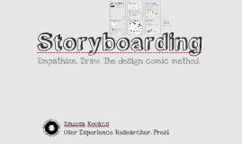Storyboarding Workshop at AIT