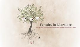 Females in Literature