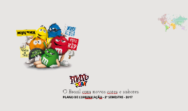 m&m's Store no Brasil