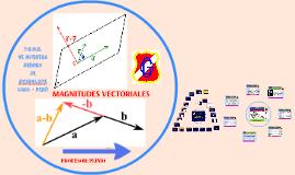 MAGNITUD VECTORIAL CARACTERÍSTICAS Y TIPOS DE VECTORES