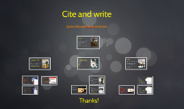 ITEPS: Cite and write
