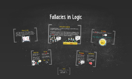 Fallacies in Logic