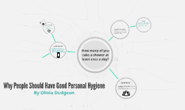 Why People Should Have Personal Hy