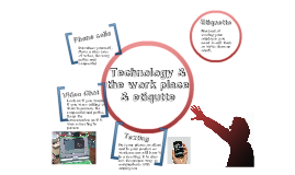 Technology & the work place & etiquette