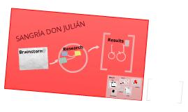 Sangría Don Julian