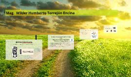 Mag.  Wilder Humberto Torrejón Encina