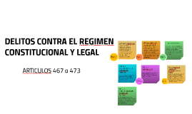DELITOS CONTRA EL REGIMEN