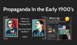 Propaganda In-between Period
