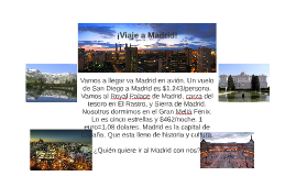 Viaje a Madrid!