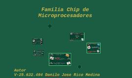 familia de chip de microprocesadores