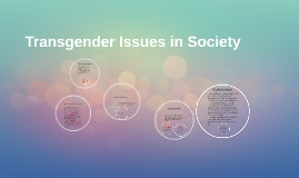 Copy of Transgender Issues in Society