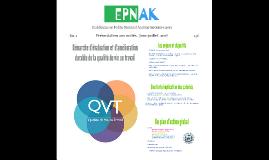 Copy of Présentation de la démarche QVT