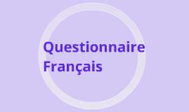 Questionnaire francais