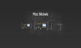 Miss Nichols