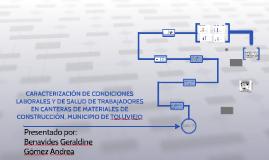 CARACTERIZACIÓN DE CONDICIONES LABORALES Y DE SALUD DE TRABA