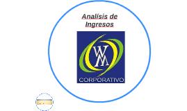 Analsís de Ingresos