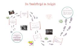 Taalstrijd België