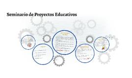 Seminario de Proyectos Educativos