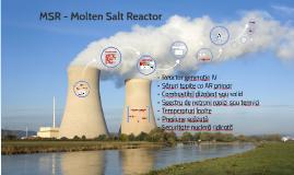 Calculul neutronic și particularitățile unui reactor cu sare