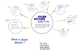 Call for submissions — Jouer dehors 2019
