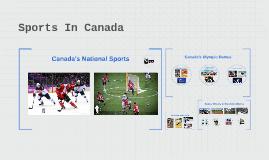 Sports In Canada