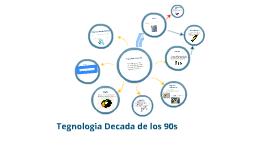 Copy of Tecnologia de los años 90